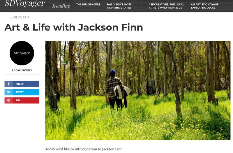 Art & Life With Jackson Finn